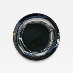 Contemporary Black Curve Mirror Italy - 1466260