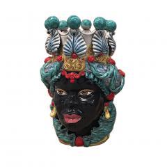 Contemporary Black Terracotta Pair of Sicilian Vases - 1087730