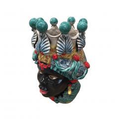 Contemporary Black Terracotta Pair of Sicilian Vases - 1087733