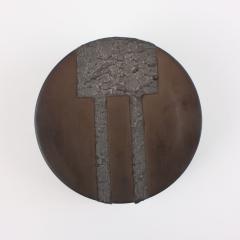 Contemporary Ceramic Drum Sculpture Tambour III - 1805718