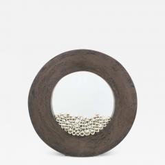 Contemporary Ceramic Sculpture Grand Anneau Noir - 1601906
