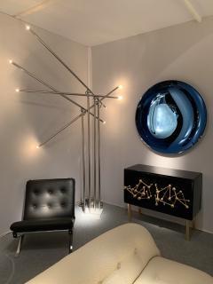 Contemporary Curve Convex Mirror Italy - 1163979