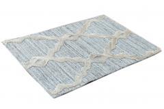 Contemporary Flatweave Custom Wool Rug - 1451102