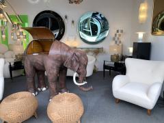 Contemporary Green Curve Mirror Italy - 1600500