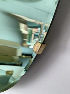 Contemporary Green Curve Mirror Italy - 1600501