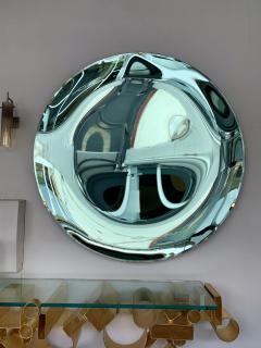 Contemporary Green Curve Mirror Italy - 1600502