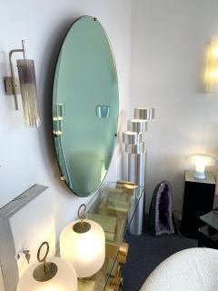 Contemporary Green Curve Mirror Italy - 1600503