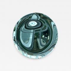 Contemporary Green Curve Mirror Italy - 1601936