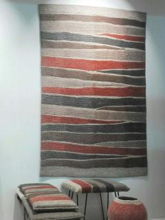 Contemporary Hand Felted Wool Rug - 1608308