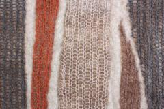 Contemporary Hand Felted Wool Rug - 1608310