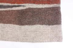 Contemporary Hand Felted Wool Rug - 1608314