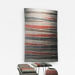 Contemporary Hand Felted Wool Rug - 1610437