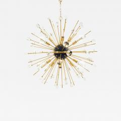 Contemporary Sputnik Chandeliers Comprised of Gilt Metal Rods - 919198