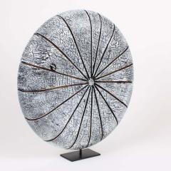 Contemporary Wood Sculpture Paras l ne Blanc - 1598783