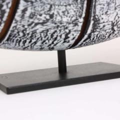 Contemporary Wood Sculpture Paras l ne Blanc - 1598788