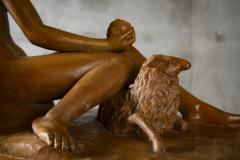 Continental Carved Wood Sculpture - 191189