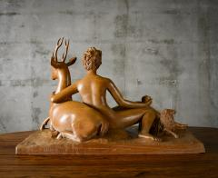 Continental Carved Wood Sculpture - 191191