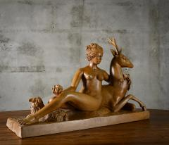 Continental Carved Wood Sculpture - 191192