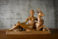 Continental Carved Wood Sculpture - 191196