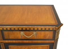 Continental Dutch Satinwood Commode Cabinet - 739794