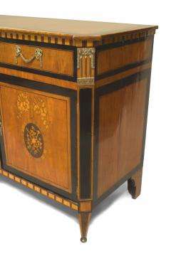 Continental Dutch Satinwood Commode Cabinet - 739797