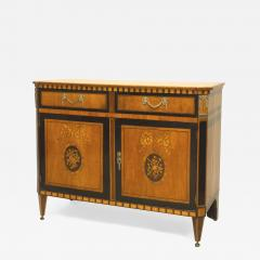 Continental Dutch Satinwood Commode Cabinet - 740413