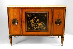 Continental Dutch Satinwood Inlaid Commode - 740857