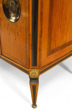 Continental Dutch Satinwood Inlaid Commode - 740858