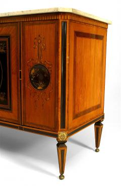 Continental Dutch Satinwood Inlaid Commode - 740862