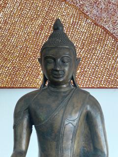 Copper Alloy Medicine Buddha Statue Southeast Asia - 1118183