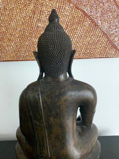 Copper Alloy Medicine Buddha Statue Southeast Asia - 1118188
