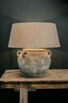 Copy of large unglazed vintage pot - 2144105