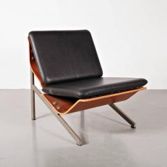 Cornelis Zitman 1964s Rare Cornelis Zitman Leather Easy Chair - 821412