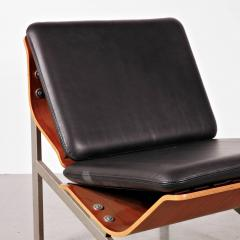 Cornelis Zitman 1964s Rare Cornelis Zitman Leather Easy Chair - 821413