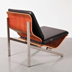 Cornelis Zitman 1964s Rare Cornelis Zitman Leather Easy Chair - 821415