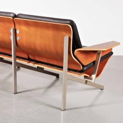 Cornelis Zitman 1964s Rare Cornelis Zitman Three Seat Leather Sofa - 824467