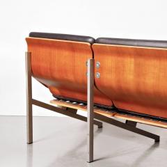 Cornelis Zitman 1964s Rare Cornelis Zitman Three Seat Leather Sofa - 824468