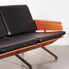 Cornelis Zitman 1964s Rare Cornelis Zitman Three Seat Leather Sofa - 824470