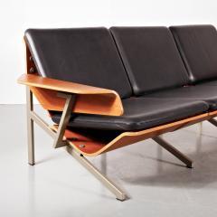 Cornelis Zitman 1964s Rare Cornelis Zitman Three Seat Leather Sofa - 824471