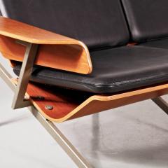 Cornelis Zitman 1964s Rare Cornelis Zitman Three Seat Leather Sofa - 824472