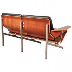 Cornelis Zitman 1964s Rare Cornelis Zitman Two Seat Leather Sofa - 824455