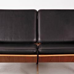 Cornelis Zitman 1964s Rare Cornelis Zitman Two Seat Leather Sofa - 824457