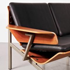 Cornelis Zitman 1964s Rare Cornelis Zitman Two Seat Leather Sofa - 824458
