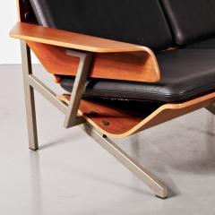 Cornelis Zitman 1964s Rare Cornelis Zitman Two Seat Leather Sofa - 824459