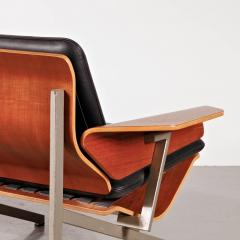 Cornelis Zitman 1964s Rare Cornelis Zitman Two Seat Leather Sofa - 824461