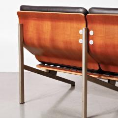 Cornelis Zitman 1964s Rare Cornelis Zitman Two Seat Leather Sofa - 824462