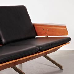 Cornelis Zitman 1964s Rare Cornelis Zitman Two Seat Leather Sofa - 824463