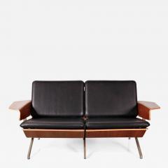 Cornelis Zitman 1964s Rare Cornelis Zitman Two Seat Leather Sofa - 825484