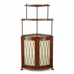 Corner cabinet with tiered shelf - 1433150