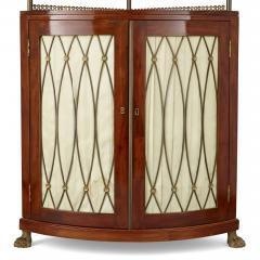 Corner cabinet with tiered shelf - 1433152